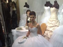 Suknia ślubna z salonu ADRIA - dla księżniczki K:)