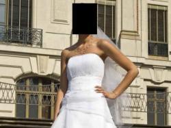 Suknia ślubna z salonu AGNES rozm.36 welon GRATIS