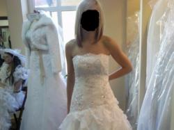 Suknia Ślubna z salonu Anna w Rybniku (model CARMEN) + DODATKI!