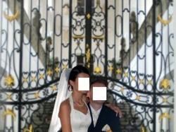 Suknia Ślubna z Salonu La Mirage rozmiar. 38 ecru