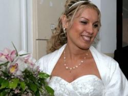 suknia ślubna z salonu Lisa Ferrera