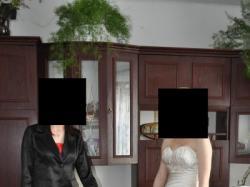 suknia slubna z salonu misscherie via luna r36