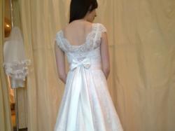 Suknia Ślubna z salonu NABLA z Krakowa r.36/38 model Suzan z dekoldem Fayette.