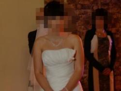 Suknia ślubna z Salonu Ślubnego EVITA-ecru