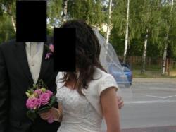 """SUKNIA ŚLUBNA z salonu """"Tylko Ona"""" Wawa"""