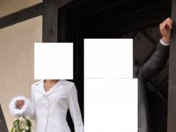 Suknia ślubna z szyfonu. Rozmiar 36/38