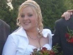 Suknia ślubna z tafty gniecionej