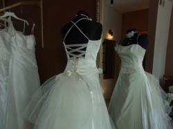 Suknia ślubna z tiurniurą Puławy
