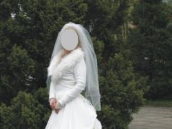 suknia ślubna z trenem 770zł