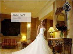 Suknia Ślubna z trenem + bolerko i diadem gratis