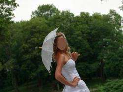 Suknia ślubna z trenem Maggie Sottero dla wysokiej panny młodej