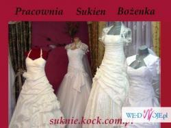 **Suknia ślubna z TWOJEGO WZORU** Pracownia Kock