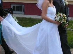 suknia SUKIENKA ślubna -tania