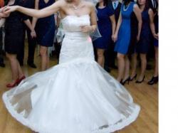 Suknia Syrena koronkowa