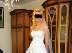 Suknia szyta na wzór maggie sottero nevaya