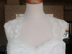 Suknia Vanessa rozm. 46-48, xxl, plus size, ecru