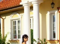 """Suknia w stylu projektu firmy ANGEL-kolekcja 2007 """"maybach"""""""
