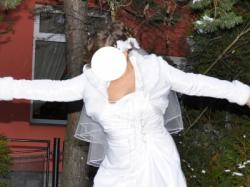 suknia white rose pm45