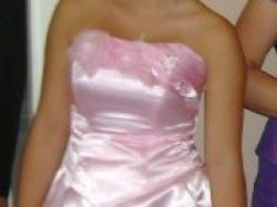 Suknia wieczorowa roz.38 różowa śliczna