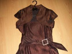 suknia wieczorowa z bolerkiem