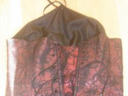 suknia z gorsetem 34-36