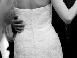 Suknia z hiszpańskiej koronki White One 424/Pronovias India 36/38
