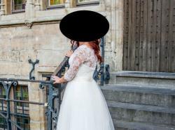 Suknia z kolecji 2016, ręcznie szyta