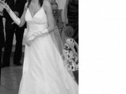 Suknia z kolekcji Jasmine, kamienie Swarovskiego, DODATKI GRATIS
