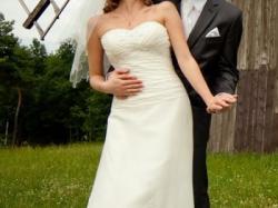 Suknia z Mori Lee kryształkami SWAROVSKIEGO - POZNAŃ