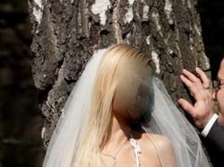 SUKNIA Z ROZCIĘCIEM W STYLU Hiszpańskim-Janessa EMMI MARIAGE