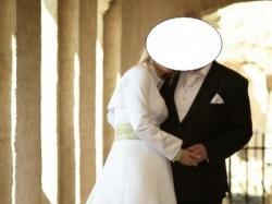 suknie śluba klasyczna -malowana z bolerkiem i dodatkami(tj.kolczyki=bransoletka