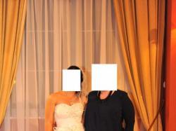 suknie ślubna ecru