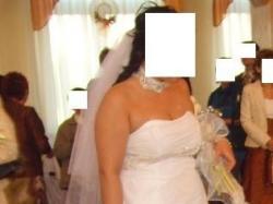 Suknię ślubna firmy Agnes nr 1752