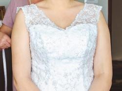 Suknie ślubną koronka sprzedam