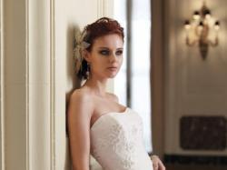 super efektowana suknia ślubna Sophia Tolli  S/M