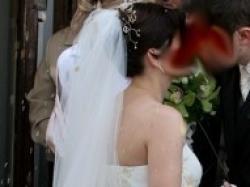 Super elegancka suknia ślubna + dodatki
