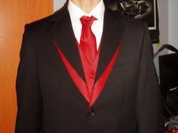 Super garnitur New Men Hektor idealny na slub