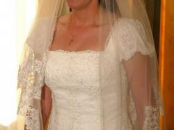 Super ¡¡¡OKAZJA !!! Tanio Sprzedam -Elegancką suknię ślubną z firmy hiszpańskiej