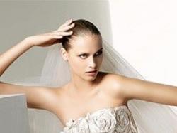 SUPER OKAZJA!! Ekskluzywna suknia ślubna Manuel Mota (Pronovias) - model Scarlet