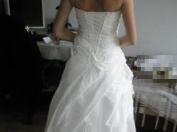 SUPER OKAZJA!!! Przepiękna Orginalna Suknia Ślubna - EMMA DV/SILVER 2009- TANIO