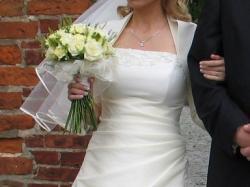 Super okazja! Śliczna suknia ślubna+gratisy!