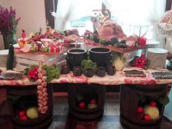 Super Stół wiejski  na imprezę okolicznościową