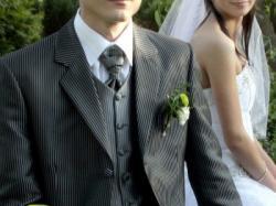 Surdut Pierre Laret!!! Idealny do ślubu - okazja!!