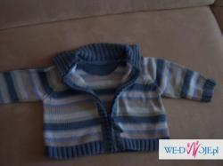 Sweterek dla małego chłopca