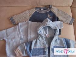 Sweterki dla chłopca 0-3 miesięcy