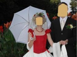 szałowa, niepowtarzalna suknia ślubna