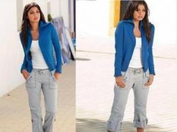 Szare spodnie wywijane z paskiem 38 NOWE Trend