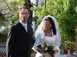 Szczęśliwa suknia ślubna:)