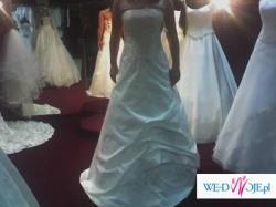 Szczęśliwa suknia ślubna :-)