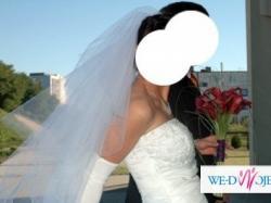 Szczęśliwa suknia ślubna roz.40